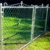 직류 전기를 통하는 또는 PVC Coated Chain Link Fence