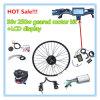 kits eléctricos de la conversión de la bici de 250W 36V, kit del motor del eje de rueda, kit eléctrico de la conversión de la bici y exhibición del LCD