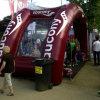 Kundenspezifisches im Freien aufblasbares Partei-Zelt für Sport-Felder (IT-107)