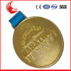 Medalla de encargo barata del medallón 3D de la aleación grande del cinc con insignia