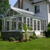 薄板にされたガラスのアルミニウム日光の家のアルミニウムSunroom (FT-S)
