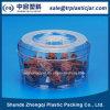 cristal de la caja plástica de la tuerca