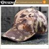 カムフラージュの屋外のガラガラヘビの大蛇のカムフラージュの野球帽