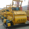 Js500 Mezclador Horizontal de hormigón, Twin-Shaft hormigonera