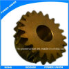 Hardware de latón maquinado CNC de engranaje de transmisión