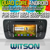 Witson S160 per Seat Ibiza Car 2009-2013 DVD GPS Player con lo Specchio-Link di Rk3188 Quad Core HD 1024X600 Screen 16GB Flash 1080P WiFi 3G Front DVR DVB-T (W2-M246)