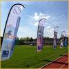 Bandeira ao ar livre da pena da bandeira do vôo para eventos e esportes