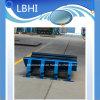 La bande de conveyeur à extrémité élevé de Customzied de marque protègent le constructeur de berceau de choc de matériel