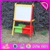 Plateau de dessin multi-fonctions Magnetic Kids 2015, chevalet en bois avec boîte de rangement, design de crayon de haute qualité, chevalet de peinture W12b047