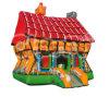 Lustige Werbung PVC-aufblasbares Prahler Castleinflatable Schlag-Haus CB272