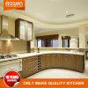 Arc circulaire en bois de placage armoire de cuisine design