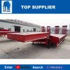 タイタンの低いローダーの指定2の車軸は50トン60トン低いベッドの半トレーラー80トンののための建設用機器を運ぶ