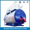 ASME 8 Ton/Hrのガス、オイル、ヨーロッパバーナーが付いている二重燃料の蒸気ボイラ