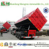 De Vervaardiging 60t-80t 3 van China de ZijStortplaats van Assen/de Semi Aanhangwagen van de Kipwagen/de Aanhangwagen van de Vrachtwagen van de Kipwagen