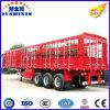 3 eixos de caminhões de carga do Utilitário de participação de gado semi reboque do trator