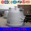 鋳物場の製鉄所のための注ぐひしゃくの鋼鉄鋳造のスラグ鍋