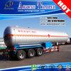 Venda de fábrica 55cbm LPG / Chemical Acid Liquid Tank Semi Semi-reboque