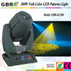 Gbr PRO Light/ RGBW 200W LED Moving Head Gobo Light