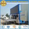 4X2 de 6 tonnes de haute qualité de la publicité mobile chariot avec l'étape d'affichage