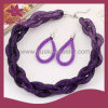 De Juwelen van de violetkleurige Manier van de Charme (2015 gus-Fsns-039)