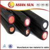 Câble solaire du faisceau 2X6mm2 picovolte de jumeau de câble de C.C