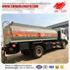 De Tankwagen van de Levering van de Stookolie van de Nuttige lading van het roestvrij staal 8t