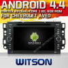 シボレーAveo (W2-A7046)のためのWitson Android 4.4 System Car DVD