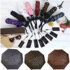 High Quality Colorful Leisure Lady Folding Sun Umbrella