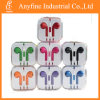 Earphone colorido con Volue Control y Mic para iPhone5