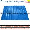 Hoja de la construcción material de cubierta prepintada galvanizada planchas onduladas