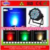 LED RGBW DJ 디스코 동위 빛