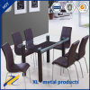 ホーム家具8 Seater Hot Bent Glass Dining Table