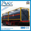 40FT ISO Oil Tank Container 40FT Liquid Chemical / Fuel Tank Container