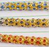 Ss38 8mm cristal vestido de boda joyería Jeans Cinturones cadena Cadena redonda del Rhinestone (TCS-SS38 de oro)