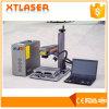 Het dunne Merken van de Laser van de Vezel van het Metaal en Scherpe Machine