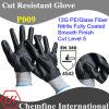 13G PE/Стекловолокно вязаные рукавицы с нитриловые полностью покрыты/ EN388: 4343