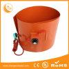 Calefator flexível do cilindro do tambor de petróleo da borracha de silicone