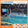 Visualizzazione di LED di sport dell'interno ed esterni per lo stadio