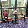 De gama alta de madera metal Restaurante Rojo Silla para el mercado estadounidense (FOH-07102)