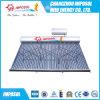 Calentador de agua solar del acero inoxidable con el tanque auxiliar