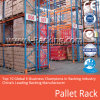 Het op zwaar werk berekende Systeem van het Rek van de Pallet voor Industrieel Max. 4, 000 Kg Udl/Niveau van de Oplossingen van de Opslag van het Pakhuis