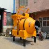 Uno mismo industrial que carga el mezclador de cemento del mezclador concreto para la venta