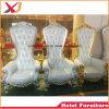 De Koning van de Troon van het Restaurant van de luxe Koningin Chair Wood Sofa voor het Dineren