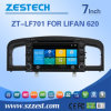 Navegación del coche DVD GPS de la pantalla táctil de Zestech para Lifan 620