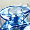 Para Tealight portavelas de vidrio