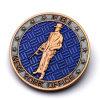 Manufaktur-fördernder Produktions-Goldamerikaner eine Dollar-Metalkollektivreplik-Münze