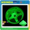 Incandescenza fluorescente di verde poco costoso di prezzi della fabbrica di Hsinda nel rivestimento scuro della polvere della vernice di spruzzo