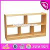 Muebles de preescolar para niños de alta calidad de almacenamiento de muebles de madera natural W08c203