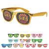 Insignia de encargo con marca de fábrica de las gafas de sol del diseño 2017 de los vidrios de Sun de las persianas nueva