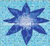 Mosaico de cristal de la piscina del modelo de mosaico (HSP326)
